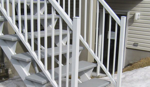 rampe aluminium victoriaville balcon terrasse en composite. Black Bedroom Furniture Sets. Home Design Ideas